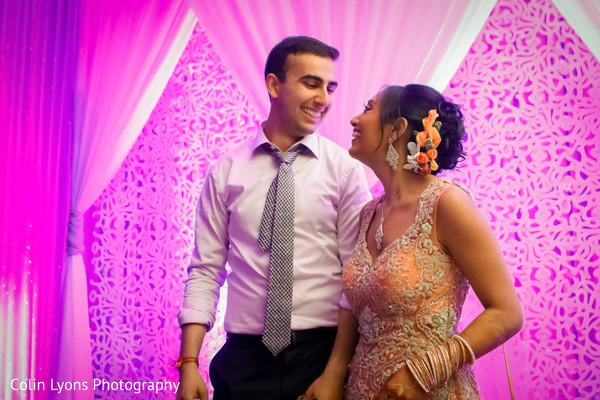 indian wedding reception,indian bridal fashions,indian fusion wedding reception
