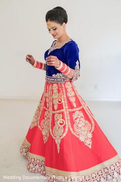 indian bride ceremony fashion,bridal tikka,indian bride