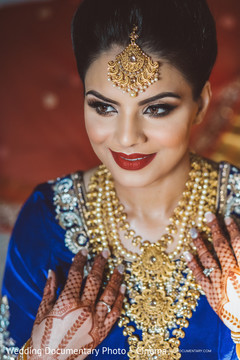 indian bride hair and makeup,indian wedding henna,indian bride