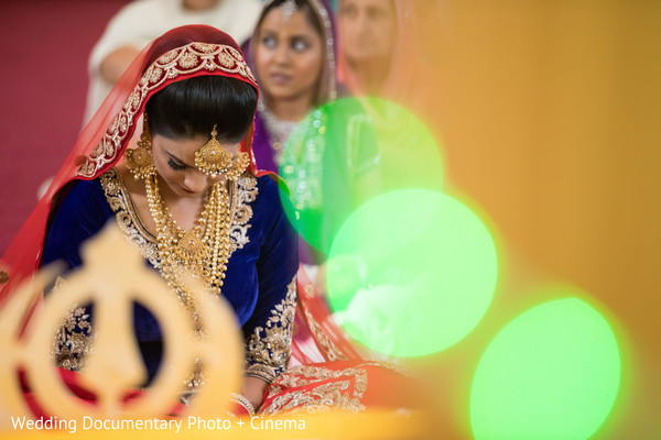Indian bride photography in California Sikh Wedding by Wedding Documentary Photo + Cinema