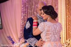 indian bride reception fashion,indian groom sherwani,indian bride hair and makeup