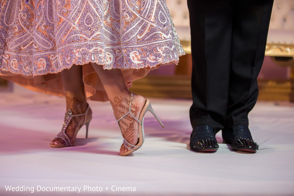 Indian couple shoes photography