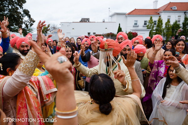 Sikh baraat. in New Rochelle, NY Sikh Wedding by StoryMotion Studios