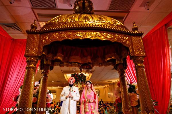 Traditional sikh wedding ceremony. in New Rochelle, NY Sikh Wedding by StoryMotion Studios