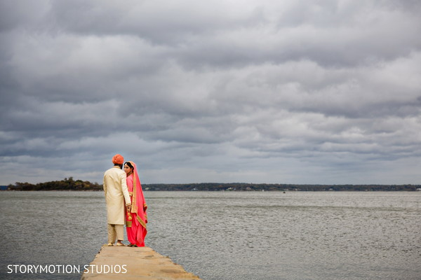 Beautiful Indian wedding photography. in New Rochelle, NY Sikh Wedding by StoryMotion Studios
