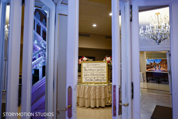 indian weddings,reception wedding sign,indian wedding floral and decor