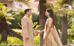indian wedding first look,indian wedding couple,indian bridal fashions