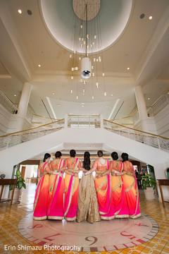indian bridesmaids,indian bride