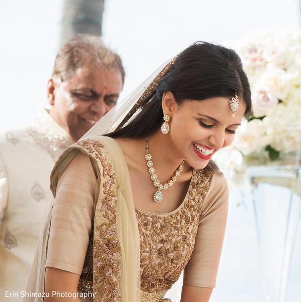 Sweet indian bride in San Diego, CA Indian Wedding by Erin Shimazu Photography