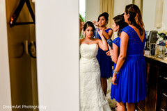 indian bridesmaids,indian bridal fashions,indian bride getting ready