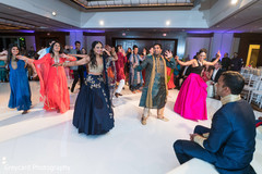 indian sangeet,choreography,indian bride,indian pre-wedding celebrations