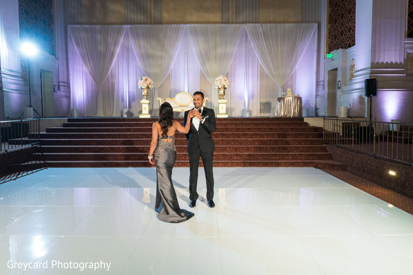 Dreamy indian wedding first dance. in Los Angeles, CA Indian Wedding by Greycard Photography