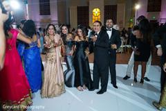 Elegant Indian wedding celebration.