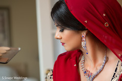 indian bride,indian bridal hair and makeup,dupatta,indian bridal jewelry