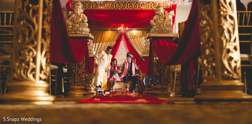 Inspiring indian wedding ceremony. in Long Island, NY Fusion Wedding by S.Snapz Weddings