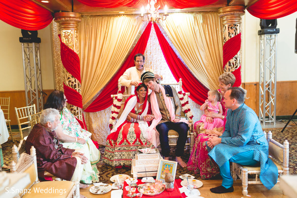 Indian fusion wedding ceremony. in Long Island, NY Fusion Wedding by S.Snapz Weddings