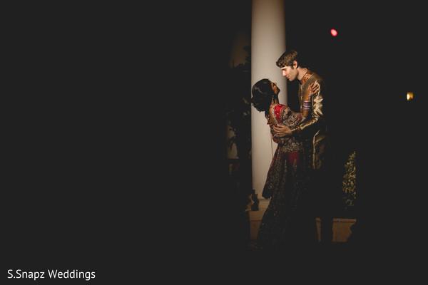 Indian wedding fusion portrait. in Long Island, NY Fusion Wedding by S.Snapz Weddings