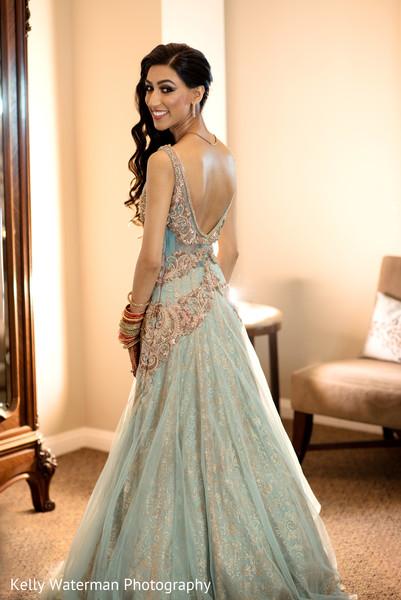 indian bride reception fashion,indian bride,pre-wedding reception photography