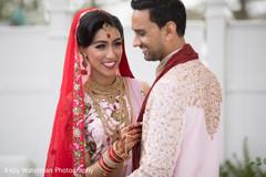 Indian couple photoshoot before wedding ceremony