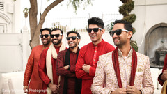 indian groomsmen fashion,outdoor photography,indian wedding photography
