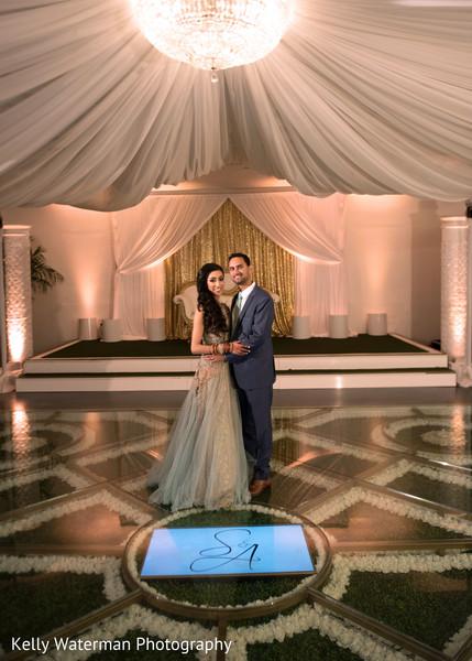 indian wedding couple,indian fusion wedding reception,indian wedding dance