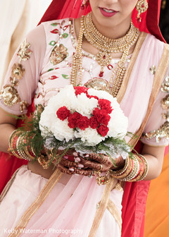 indian bridal fashions,indian bridal bouquet
