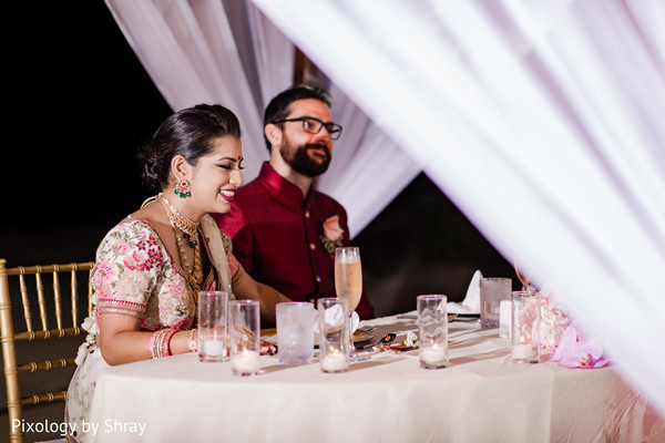 destination wedding reception,indian bride,indian groom,dj and entertainment