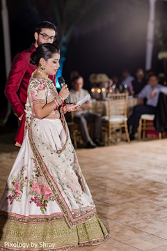 destination wedding reception,indian bride,indian groom