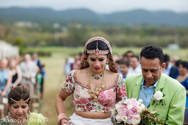 Fairy tale Indian bride.