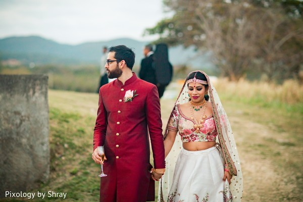 indian wedding couple,indian bridal fashions,indian groom fashion