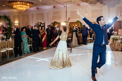 indian bride,indian fusion wedding reception,dj and entertainment