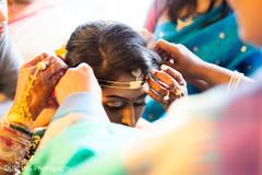bridal tikka,indian engagement ring,indian bride getting ready
