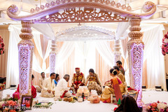 indian wedding mandap,lightning,indian wedding ceremony floral and decor