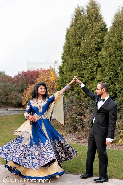 India couple photoshoot before wedding reception