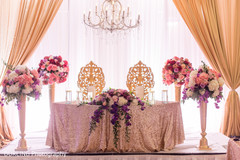 indian wedding reception,floral centerpieces,indian wedding photography
