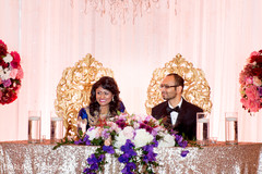 table centerpieces,indian wedding reception floral and decor,indian wedding planning and design