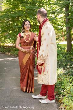 indian bridal lengha,indian groom,indian wedding first look