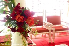 flower arrangements,flower centerpieces,indian wedding mandap
