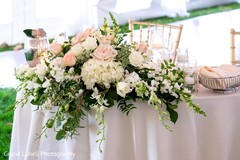 indian wedding floral and decor,outdoor indian wedding decor,table centerpieces