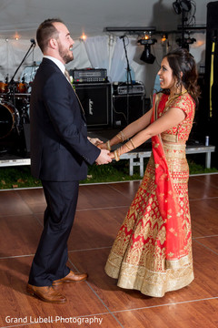 indian bridal lengha,indian fusion wedding reception