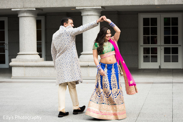 Atlanta Ga Fusion Indian Wedding By Ellys Photography Maharani