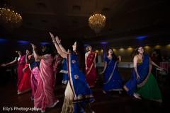 indian bride,indian bridesmaids,indian sangeet,indian pre-wedding celebrations