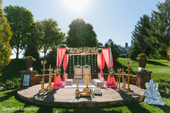 mandap,indian wedding ceremony floral and decor,outdoor photography