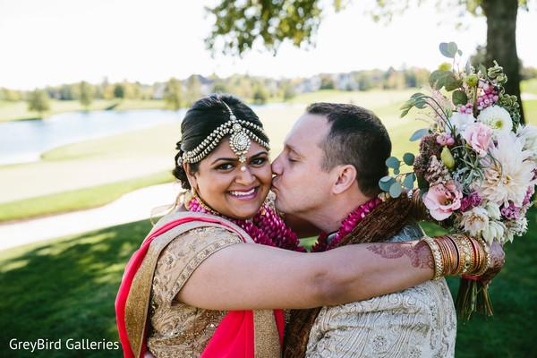 indian bride hair and makeup,bridal tikka,bride bangles
