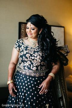 indian bride reception fashion,indian bride hair and makeup,bridal mehndi