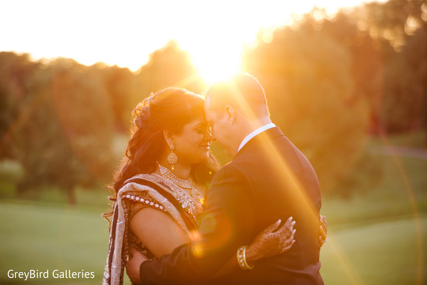 Indian couple photo session before wedding reception