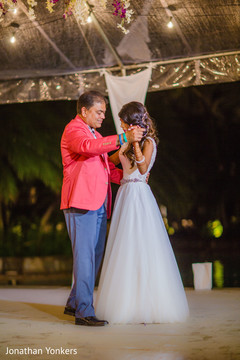 Father and daughter wedding dance.