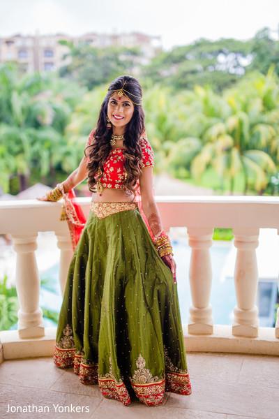 Drop-dead gorgeous indian bride