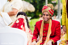 destination indian wedding ceremony,indian groom