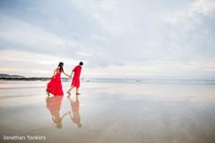 destination indian wedding indian bride,indian groom,portrait